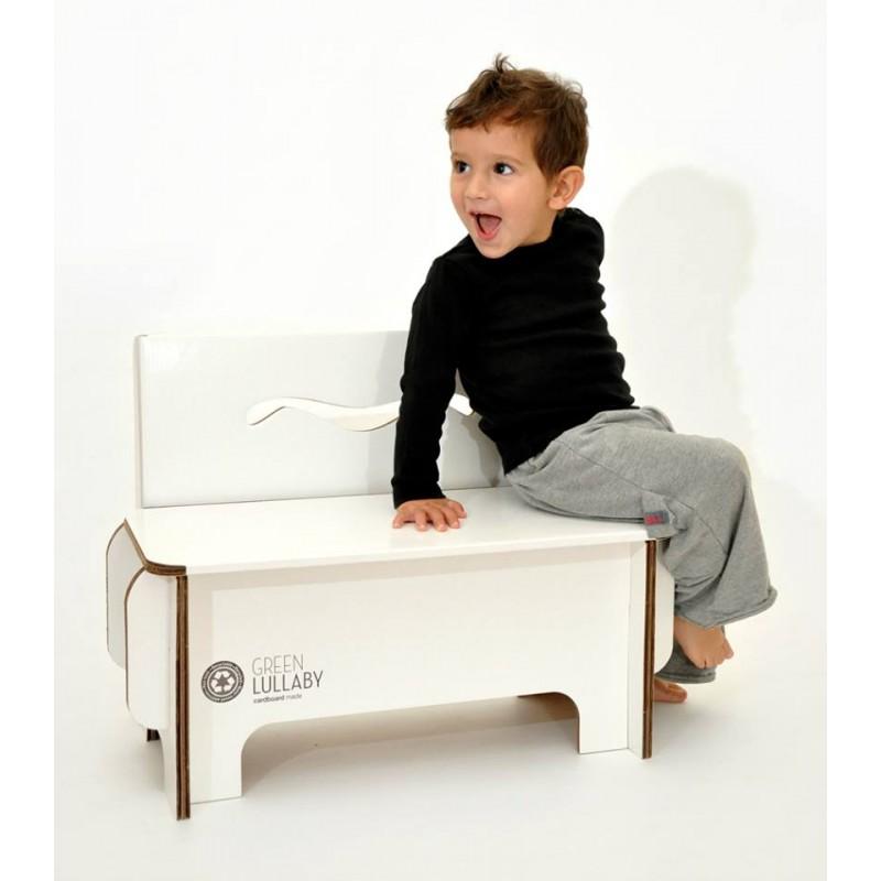 kinderbank aus karton 38 90. Black Bedroom Furniture Sets. Home Design Ideas