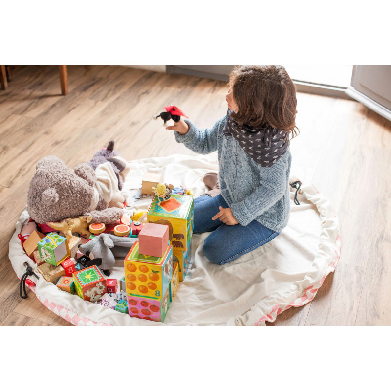 spielzeugaufbewahrung pink diamond play go 33 90. Black Bedroom Furniture Sets. Home Design Ideas
