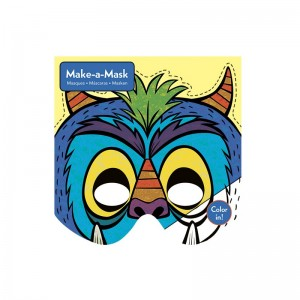 Bastelset Masken Monster