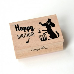 Stempel Happy Birthday