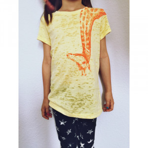 T-Shirt Lucky Fish Giraffe