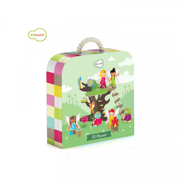 3D Spielset Fairy Tree
