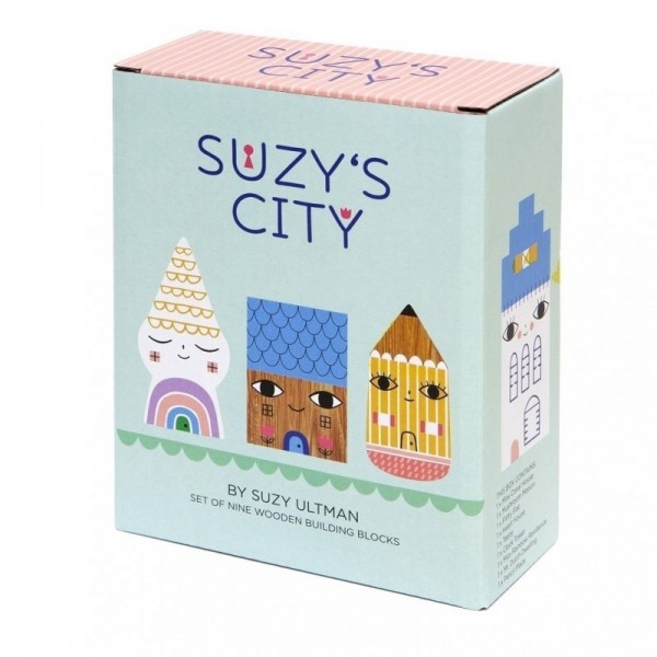 Holzfiguren Suzys City