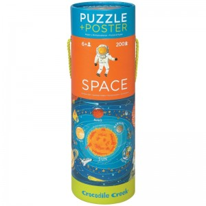 Puzzle mit Poster Space 200 Teile
