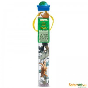 Tierfiguren Wilde Tiere, 12er Set