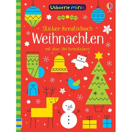 mini Sticker-Kreativbuch Weihnachten