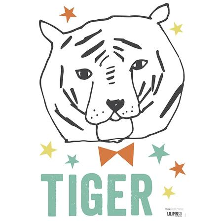 Wandsticker Tiger