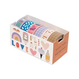 Washi Tape 6er-Set Time to Play