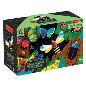Puzzle Insekten glow-in-the-dark - 100 Teile