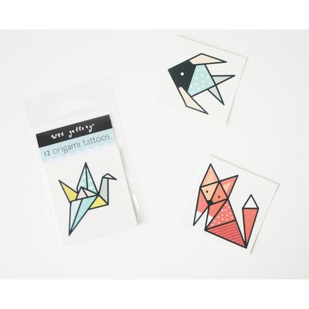 Tattoo-Set Origami