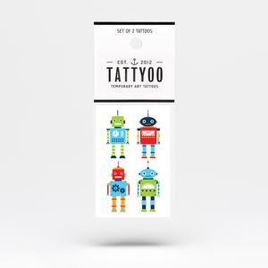 Tattoo-Set Tiny Robots
