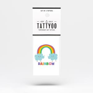 Tattoo-Set Rainbow