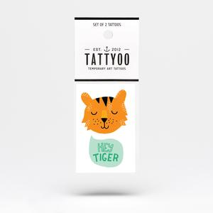 Tattoo-Set Hey Tiger