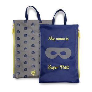 kleine Tasche My name is..., blau