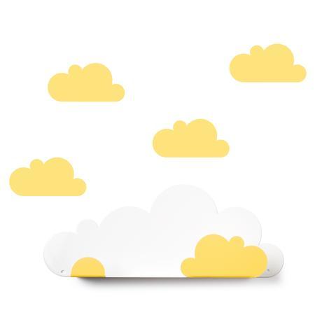 Kleinm bel - Wandregal wolke ...