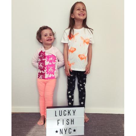 T-Shirt Lucky Fish, Goldfisch