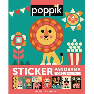 Sticker-Panorama Circus